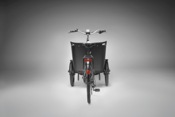 Bagende Deluxe Wood El ladcykel Dreambikes