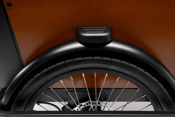 Dæk Deluxe Wood El ladcykel Dreambikes