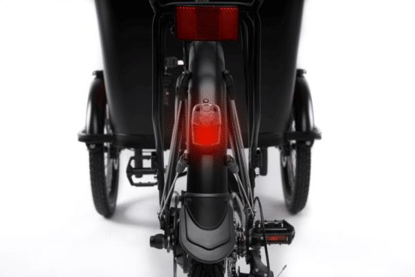 Baglygte Premium Black el ladcykel Dreambikes