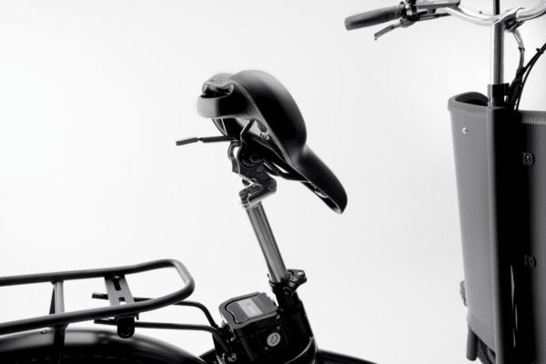 Sæde Premium Black el ladcykel Dreambikes