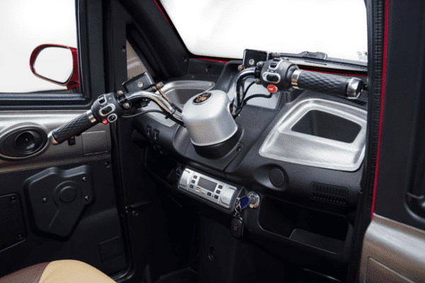 Styrtøj kabinescooter Dreambikes