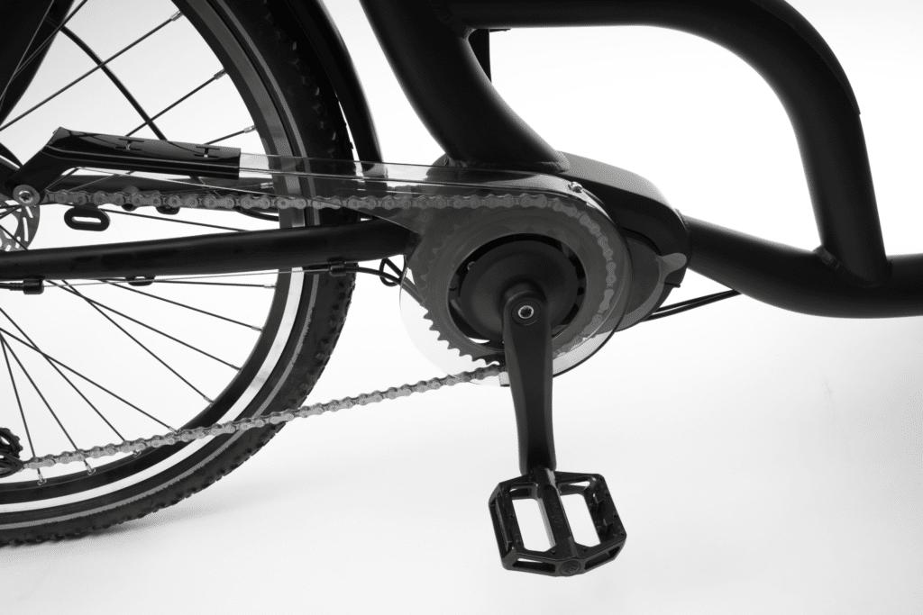 El ladcykel komponenter