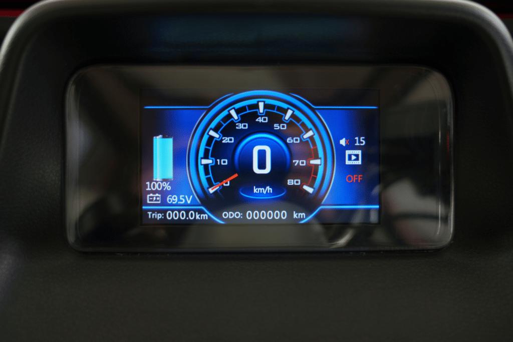 Speedometer kabinescooter